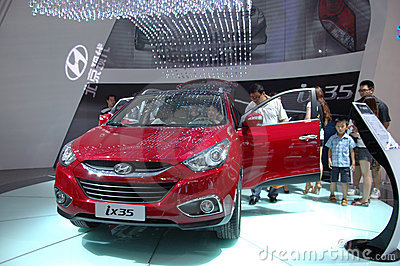Auto Show in China, Shenzhen Editorial Photo