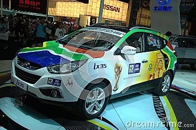 Auto Show in China, Shenzhen Editorial Photo