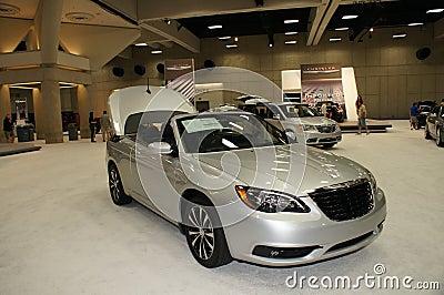 Auto Show Chrysler 200 Editorial Image