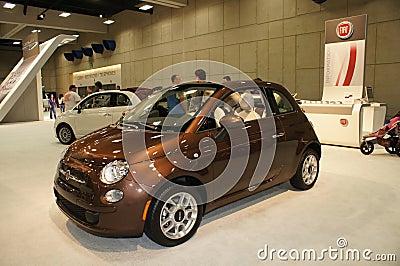 Auto Show Fiat Editorial Image