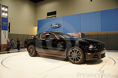Auto Show Ford Mustang Editorial Image