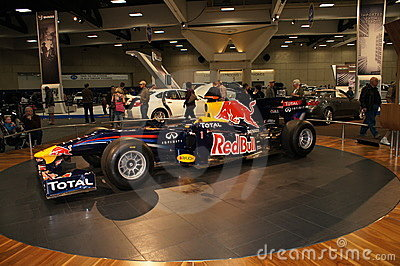 Auto Show Formula 1 Car Editorial Stock Image