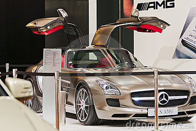 Auto show--Mercedes Editorial Photography