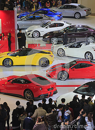 Auto show Editorial Stock Photo
