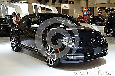 Auto Show VW Turbo Editorial Stock Photo