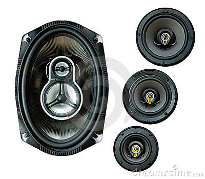 Auto sound loud speaker system