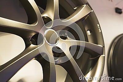 Auto steel wheel disk