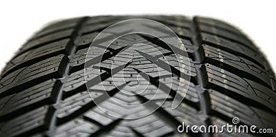 Auto tire isolated