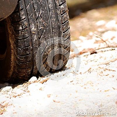 Auto tire treads