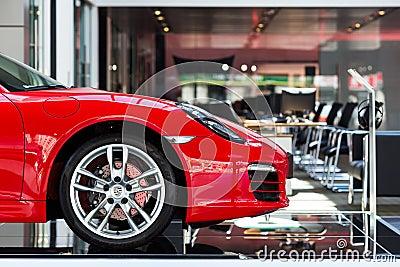 Auto voor verkoop Redactionele Foto