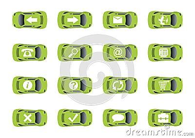 Auto web icons 1