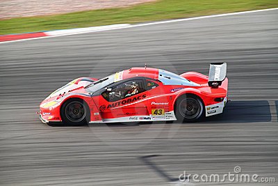 Autobacs Aguri 43, SuperGT 2010 Editorial Photo
