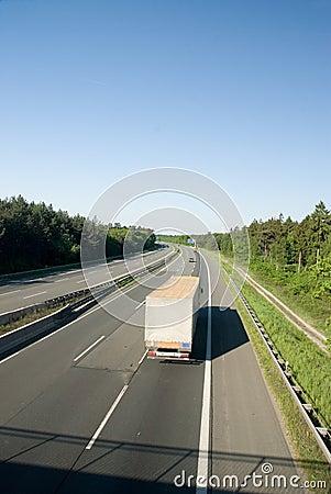 Free Autobahn Royalty Free Stock Photos - 5482338