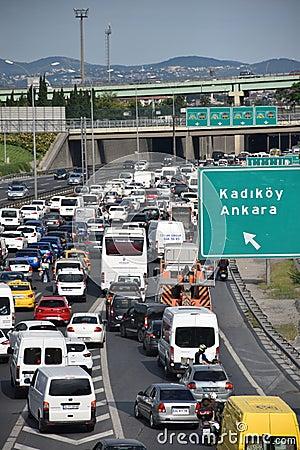 Free Autobahn Traffic Stock Photos - 94676083