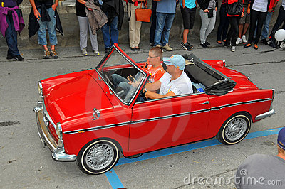 Autobianchi Editorial Stock Photo