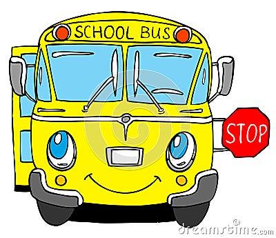 Autobus scolaire images stock image 4519394 - Autobus scolaire dessin ...