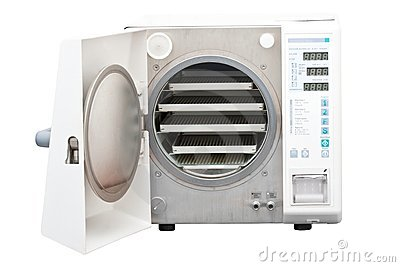 Autoclave, steriliser used in dentistry