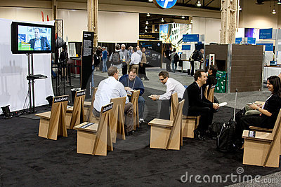 AutoDesk University 2009 in Las Vegas Editorial Image