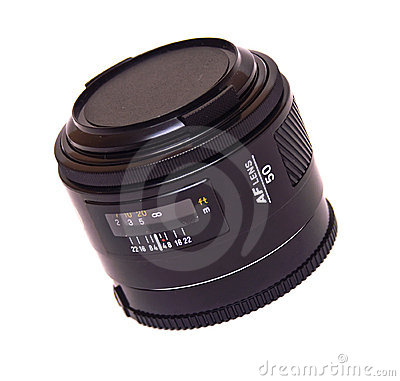 Autofocus lens isolated