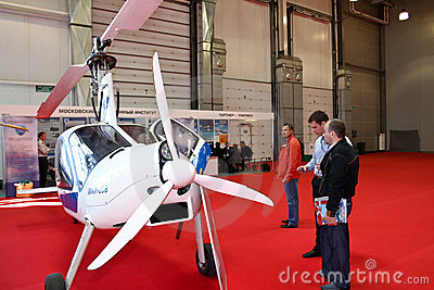 Autogyro MAI-208 Editorial Stock Image