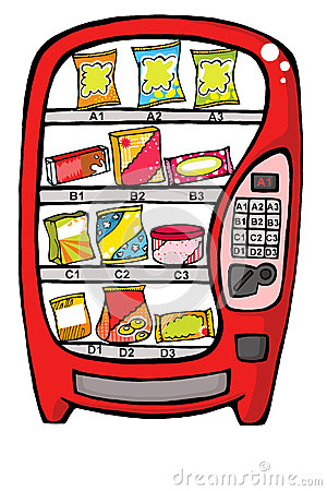 Automat jedzenie