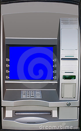 Automatic teller machine, ATM