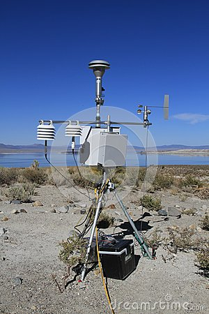 USA, California: Automatic Weather Station