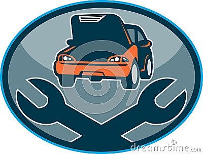 Automobile car breakdown repair