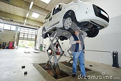 Automobile car checkup