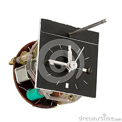 Automobile clock