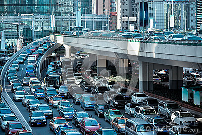 Automobile congestion
