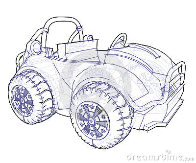 Automobile Drawing