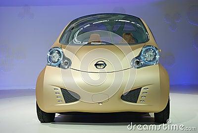 Automobile exhibition Nissan concept car Editorial Image
