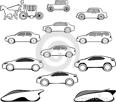Century Car Evolution