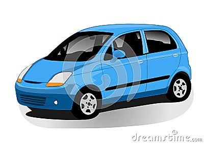 Automobile illustration