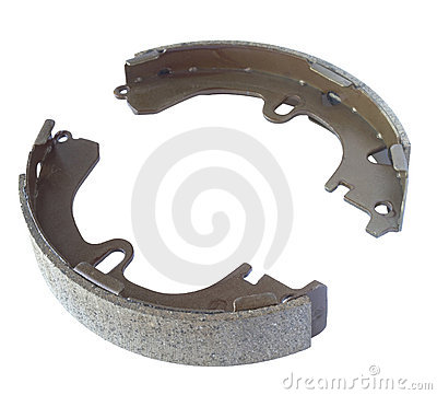 Automobile internal brake shoes