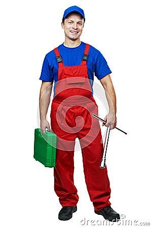 Free Automobile Mechanic With Socket Stock Photos - 23672393