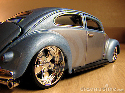 Automobile model toy