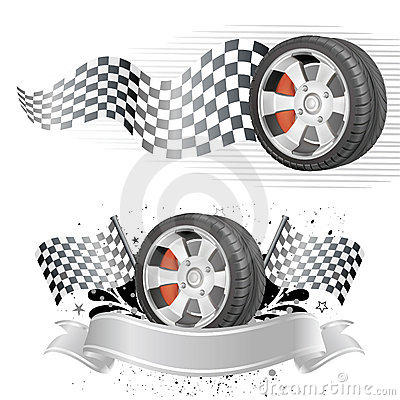automobile race element