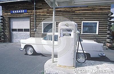 Automobile repair shop Editorial Photo