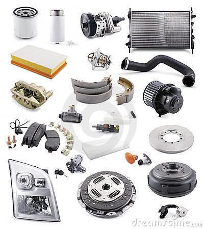 Free Automobile Spare Parts Stock Photography - 18474082