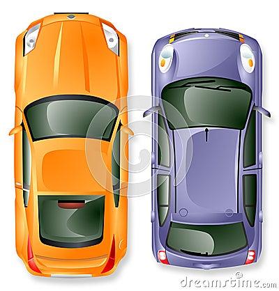 Automobili del Giappone di vettore.