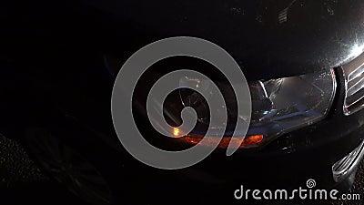 Automobili e segnale di giro archivi video