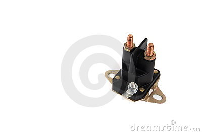 Automotive starter solenoid