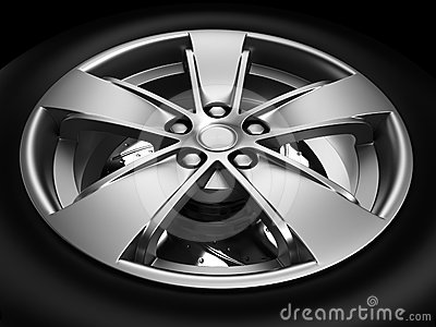 Automotive Wheel Or Tyre