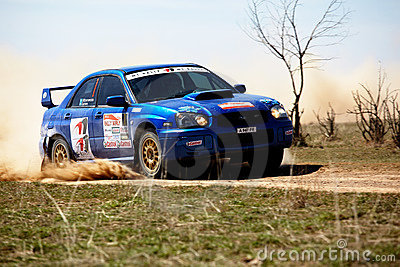 Autorally competition Editorial Stock Photo