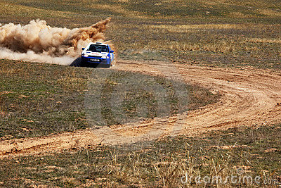 Autorally competition Editorial Image