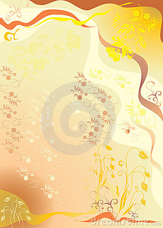 An autumn abstract background
