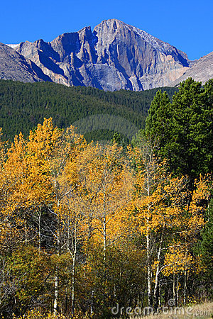 Free Autumn And Longs Peak Stock Photos - 3319583