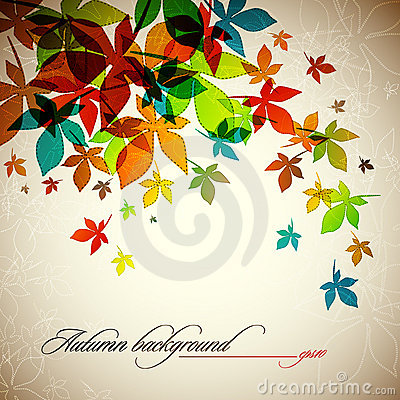 Free Autumn Background | Falling Leafs Stock Photo - 16376820